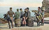 Fishing Industry Postcard